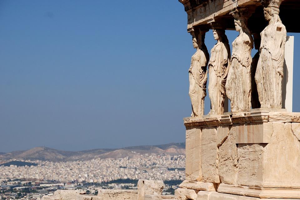 görögország, athén, oszlop